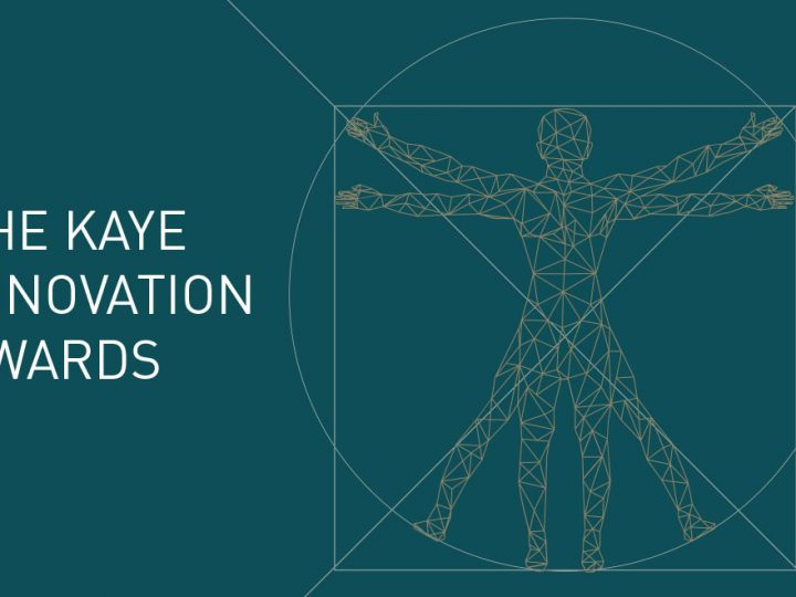 The prestigious Kaye Innovation Awards mark their 27th year